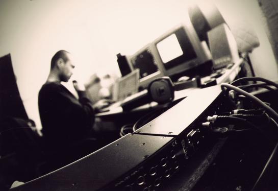 J. at work